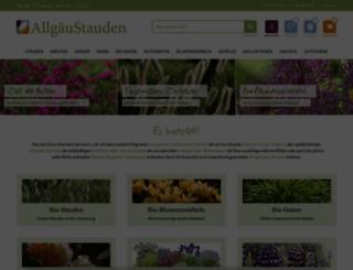 allgaeustauden.de screenshot