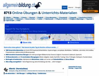 allgemeinbildung.ch screenshot