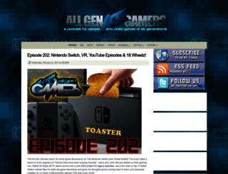 allgengamers.com screenshot