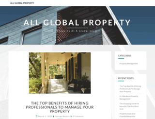 allglobalproperty.com screenshot