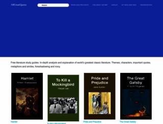 allgreatquotes.com screenshot