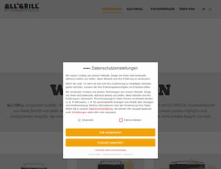 allgrill.de screenshot