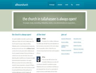 allhourschurch.com screenshot