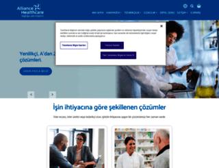alliance-healthcare.com.tr screenshot