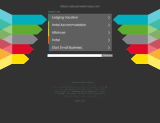 alliance-hospitality.com screenshot