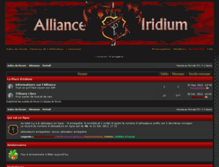 alliance-iridium.com screenshot