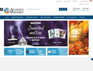 alliance-magique.com screenshot
