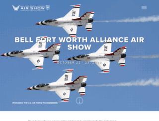 allianceairshow.com screenshot