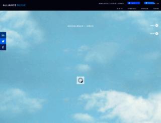 alliancebleue.com screenshot