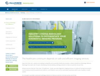 allianceimaging.com screenshot