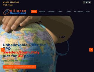 alliancekolkata.co.in screenshot