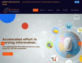 alliancekolkata.com screenshot