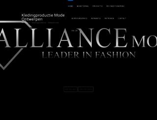 alliancemode.nl screenshot