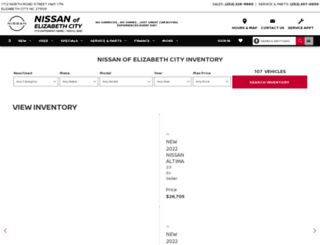 alliancenissan.com screenshot