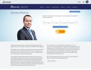 alliances.quintiq.com screenshot