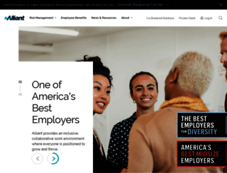 alliant.com screenshot