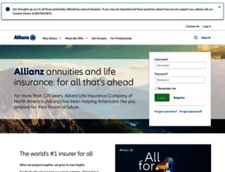 allianzlife.com screenshot