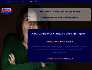 allianzmisleidt.nl screenshot