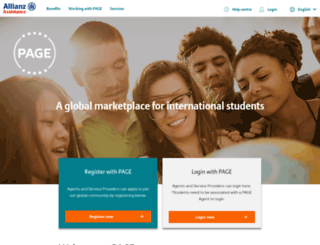 allianzpage.com screenshot