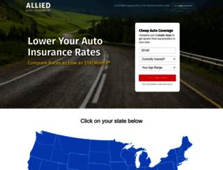 alliedautoins.com screenshot