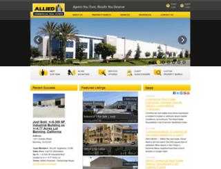 alliedcre.com screenshot