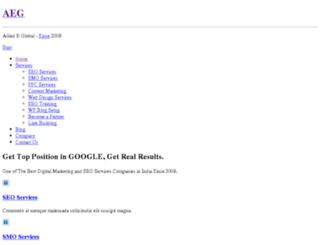 alliedeglobal.com screenshot
