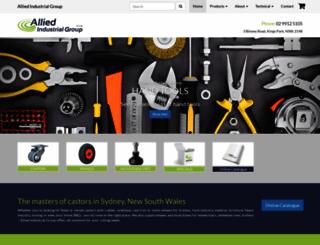 alliedindustrial.com.au screenshot