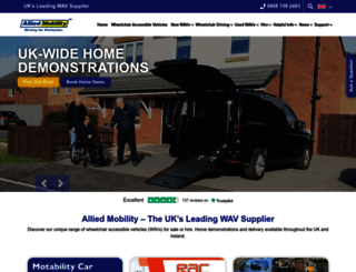 alliedmobility.com screenshot