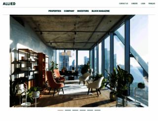 alliedreit.com screenshot