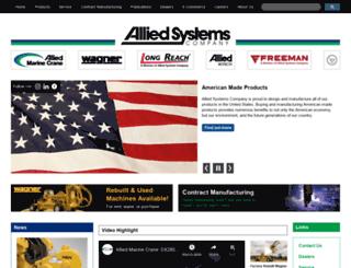 alliedsystems.com screenshot