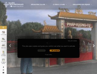 allier-tourisme.com screenshot