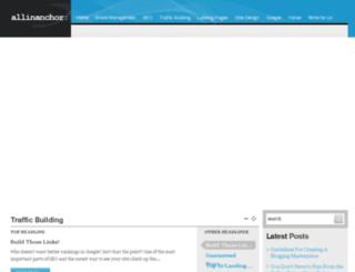 allinanchor.com screenshot