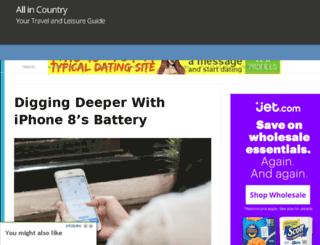 allincountry.com screenshot