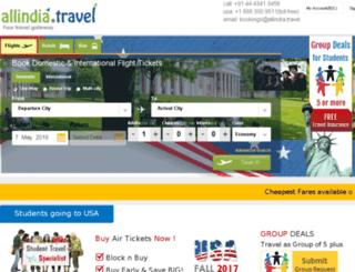 allindia.travel screenshot