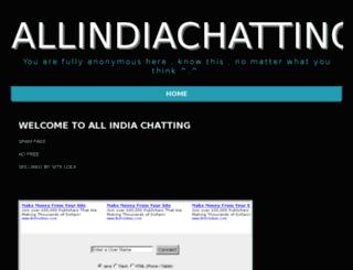 allindiachatting.com screenshot