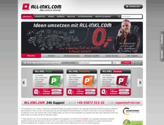 allinkl.com screenshot