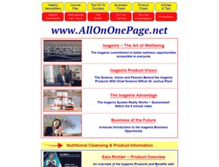 allinonebusiness.net screenshot