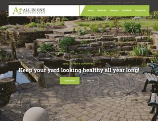 allinonelandscaper.com screenshot