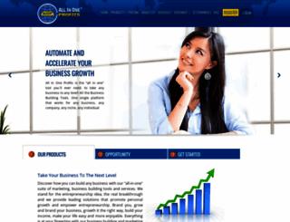 allinoneprofits.com screenshot