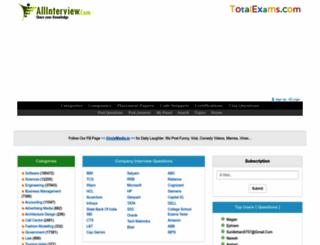 allinterview.com screenshot