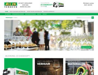 allinverhuur.nl screenshot