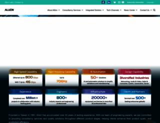 allion.com screenshot
