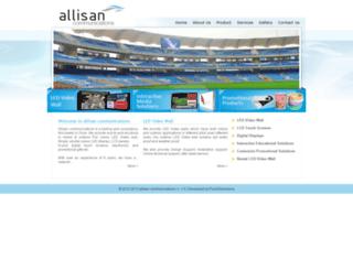 allisan.co.in screenshot
