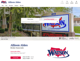 allisonables.com screenshot