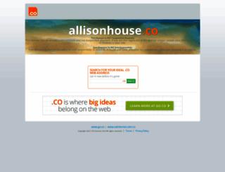 allisonhouse.co screenshot