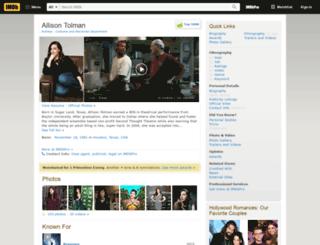 allisontolman.com screenshot