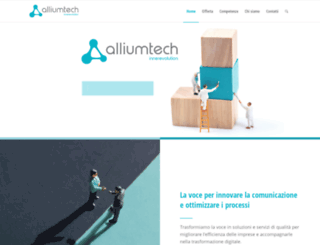 alliumtech.it screenshot