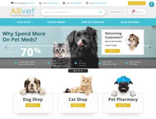 allivet.com screenshot