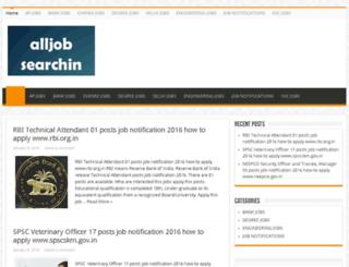 alljobsearchin.com screenshot