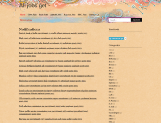 alljobsget.wordpress.com screenshot